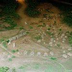 三内丸山遺跡集落の復元模型