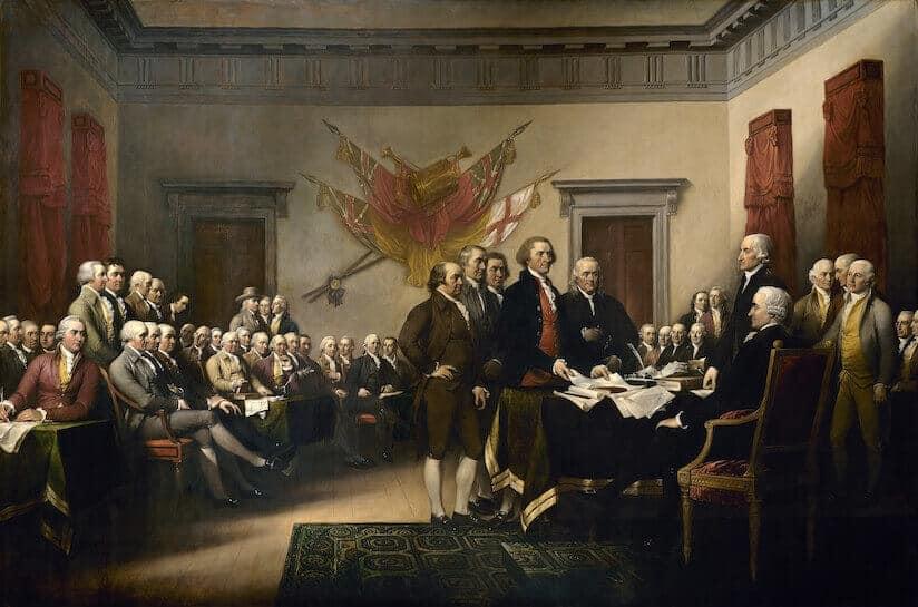アメリカ独立宣言 独立戦争の開始と独立宣言 アメリカ独立戦争 45.アメリカ独立革命