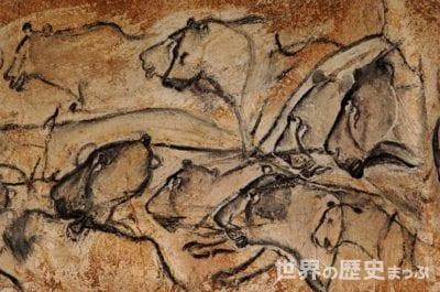 アルデッシュ ショーヴェ・ポンダルク洞窟壁画