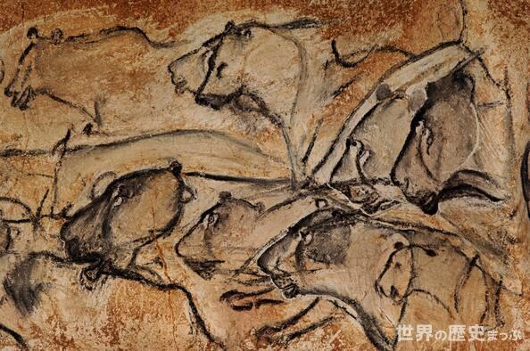 ショーヴェ洞穴壁画 アルデッシュ ショーヴェ・ポンダルク洞窟壁画